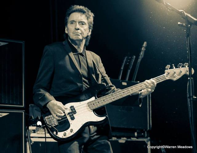 Clocking On: Bruce Foxton, with From The Jam, Cardiff Tramshed, December 2015 (Photo: Warren Meadows)