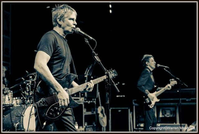 Jam Session: Russell and Bruce in action at Cardiff Tramshed, December 2015 (Photo: Warren Meadows)