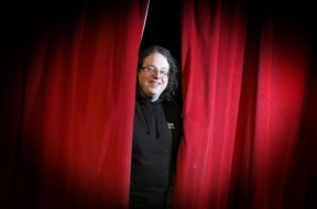 Curtain Call: Ian Robinson faces the public at Chorley Little Theatre (Photo copyright: Chorley Guardian)