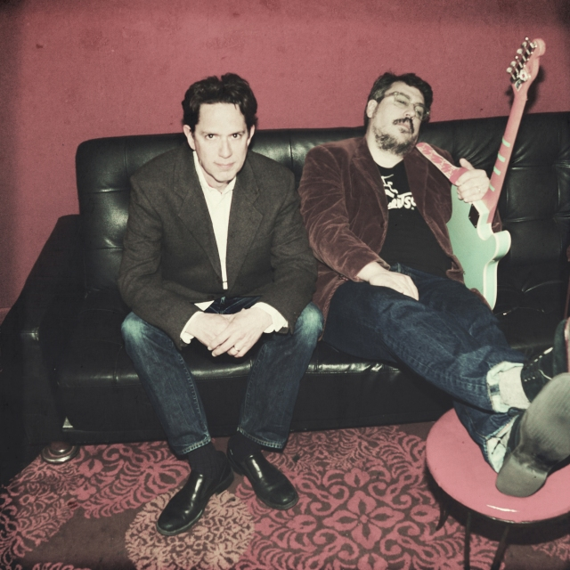 Two Johns: TMBG founders John Linnell, left, and John Flansburgh (Photo: Shervin Lainez)