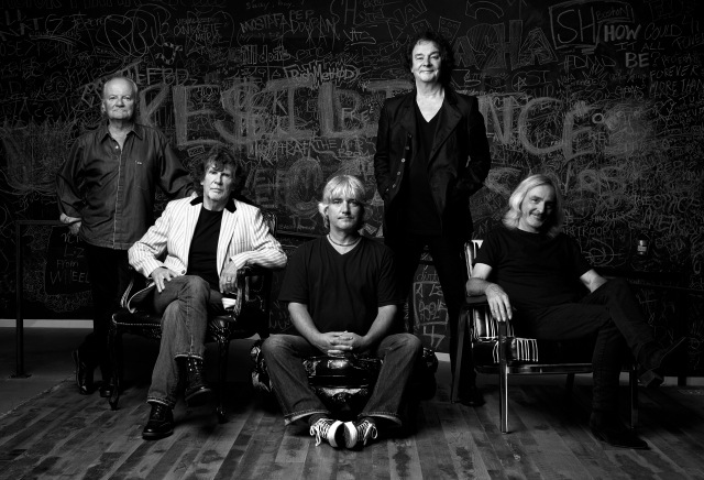 Seasonal Favourites: The Zombies, with Colin Blunstone, second right, and Rod Argent, second left (Photo copyright: Andrew Eccles)