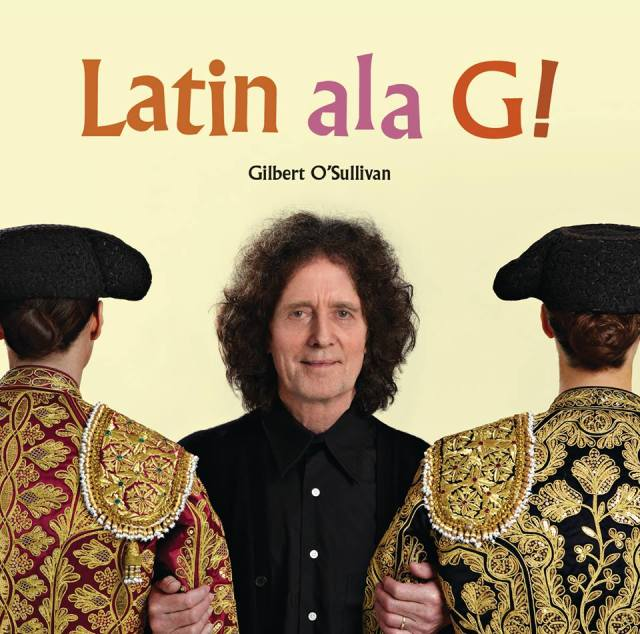Matador Able: Gilbert tries to convince us three is allowed on the cover of his latest album