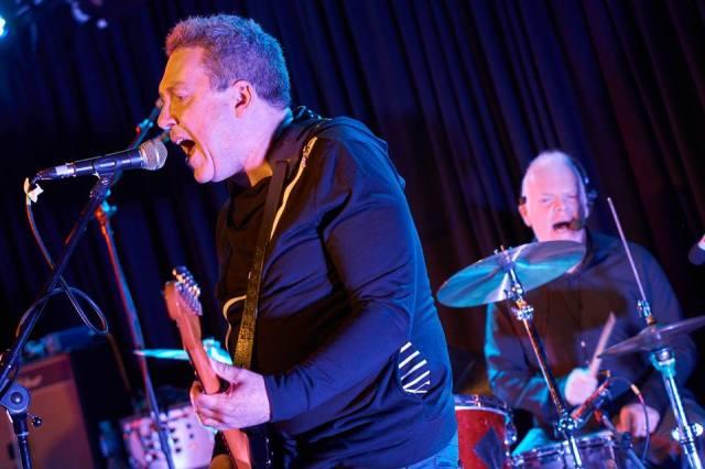 Assured Harmonies: Raymond Gorman and Ciaran McLaughlin in action at The Lexington (Photo copyright: Kate Greaves)