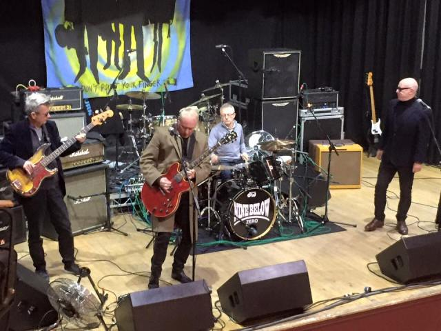 Soundcheck Blues: Nine Below Zero look to acclimatise to East Lancs (Photo from the band's Facebook page)