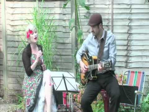 Class Act: Kate singing Luck Be a Lady with bandmate Blake Wilner at a garden party in 2010 (video link: https://www.youtube.com/watch?v=_MG41h3Ny1E)
