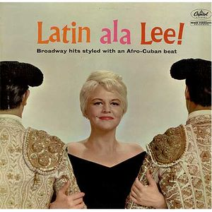 Iconic Figure: Peggy Lee's 1960 album inspired Gilbert's 2015 cover art tribute