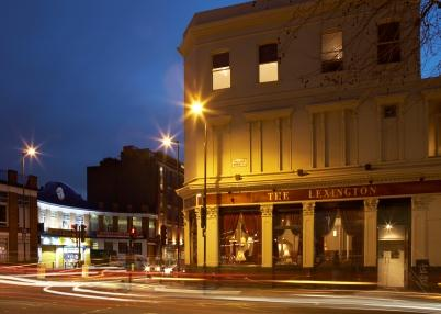 Night Lights: The Lexington (Photo copyright: http://www.thelexington.co.uk/)