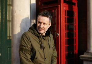 Ringing Endorsement: Neil Arthur waiting patiently for writewyattuk's call