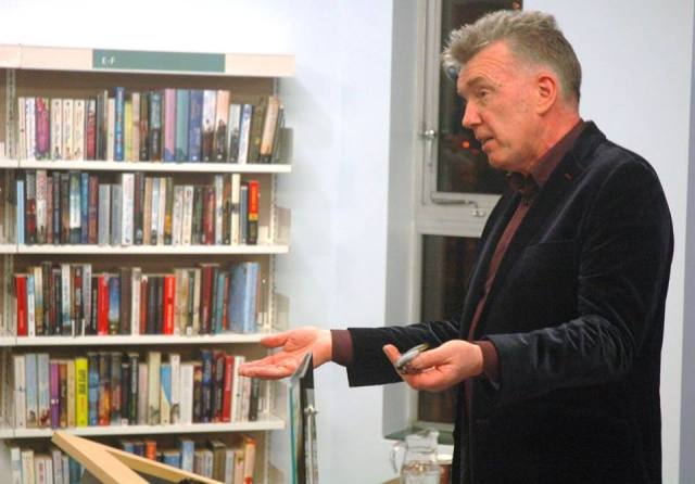 True Confessions: Michael Bradley at Derry's Central Library book launch (Photo: Vinny Cunningham)