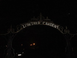 Lytham Night: Outside the Pavilion. Gremlins not pictured (Photo: Malcolm Wyatt).