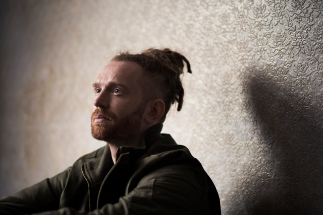 Shadow Play: Newton Faulkner, back out on tour again from next week, promoting Human Love (Photo: Pip for BMG)