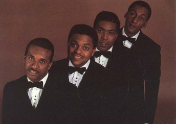 Lining Up: The Four Tops in earlier days, with Duke Fakir back right