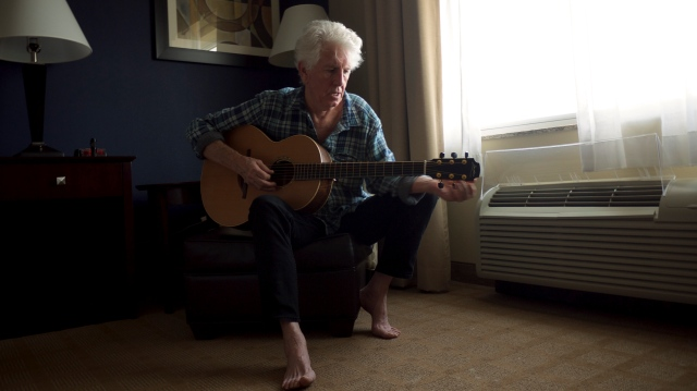 Bare Footing: Graham Nash, coming back to a few of his old UK haunts