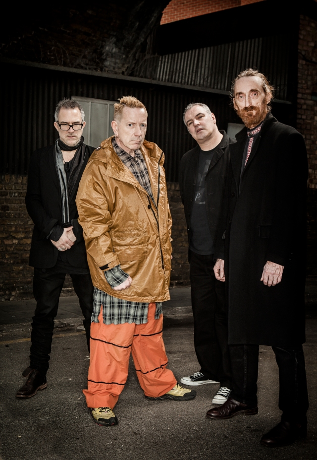 Standing Out: John Lydon with his PiL bandmates Bruce, Scott and Lu