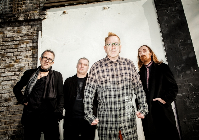 Lining Up: Bruce Smith, Scott Firth, John Lydon and Lu Edmonds, coming to a town near you.
