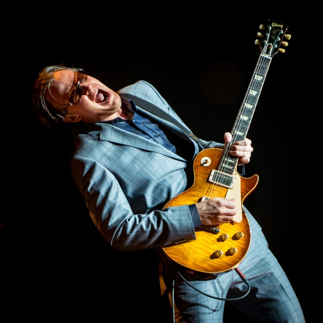 Guitar Man: Joe Bonamassa gives it some (Photo: Laurence Harvey)