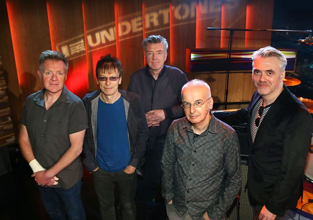 Jaunty Fellas: The Undertones. From the left - Billy, Damian, Mickey, John, Paul (Photo: BBC Radio Ulster)