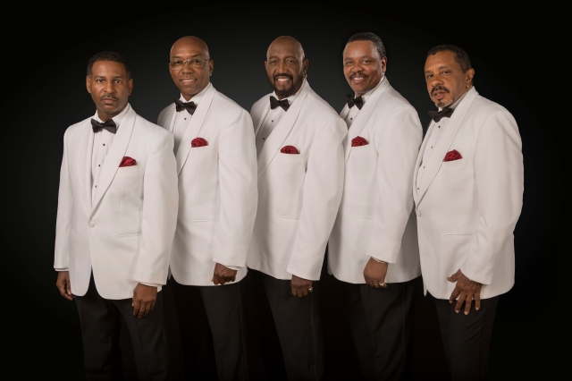 Temptations Today: The band in 2016, with Otis Williams, centre, the sole surviving original member