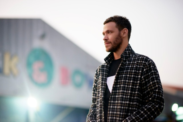 Towering Talent: Will Young, all set for a busy working summer