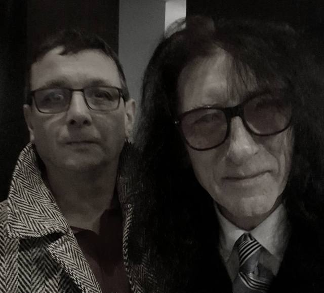Foreword March: Matteo Sedazzari with John Cooper Clarke