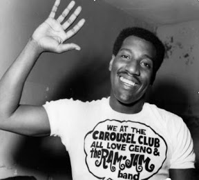 In Tribute: The late, great Otis Redding in his Carousel Club tee shirt (Photo: http://genowashington.blogspot.co.uk/)