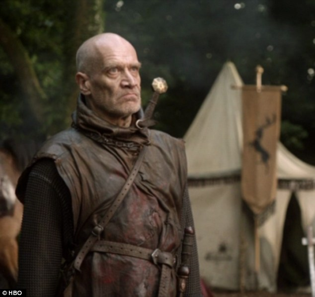 Mute Warning: Wilko Johnson in Game of Thrones (Copyright: HBO)
