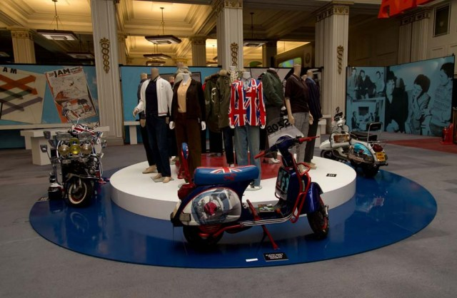 Display Material: Inside the All Mod Cons area of the exhibition (Photo: About the Young Idea)