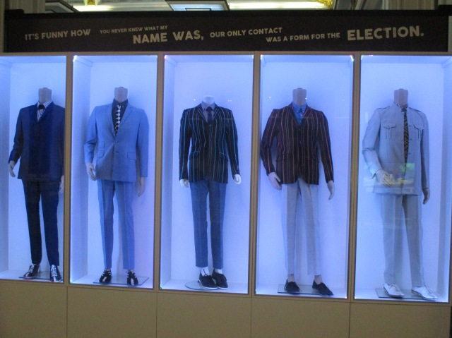 Suits You: Redefining style at the About the Young Idea exhibition (Photo: Malcolm Wyatt)