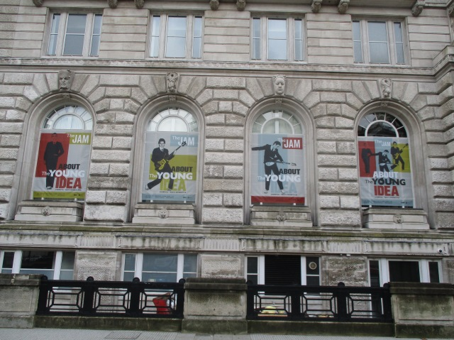 Cunard Building: One of Liverpool's 'Three Graces', home to the About the Young Idea exhibition (Photo: Malcolm Wyatt)