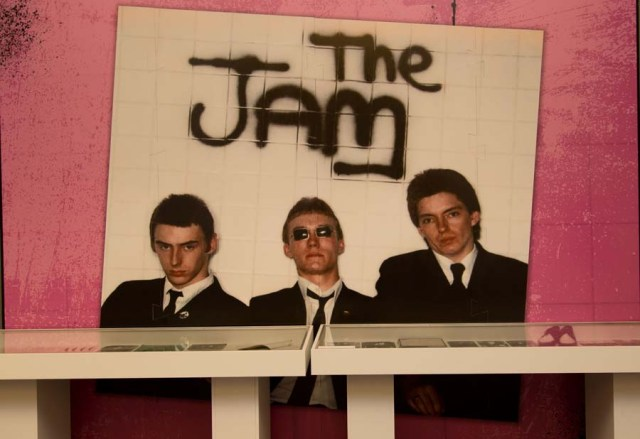 City Gents: Paul, rick and Bruce picked out for The Jam's In the city exhibition area (Photo: About the Young Idea)