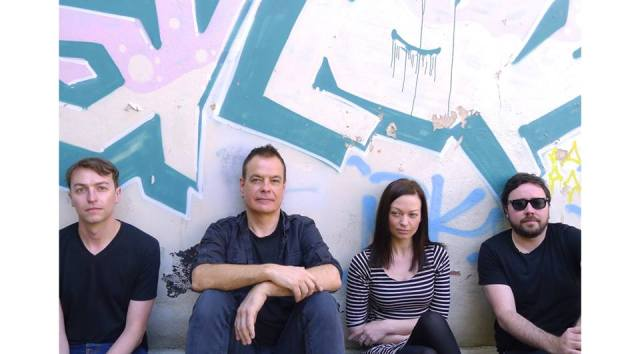 Four Play: Charles, David, Katharine and Samuel let the writewyattuk verdict on Going Going ... sink in (Photo: The Wedding Present)