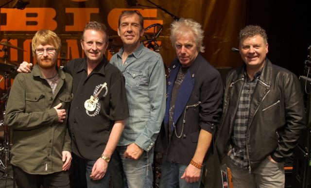 Big Country, 2016. From the left - Jamie Watson, Bruce Watson, Mark Brzezicki, Simon Hough, Scott Whitley (Photo: Paul Green)