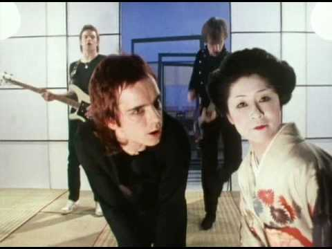 Eastern Promise: Dave Fenton during the video for Turning Japanese.