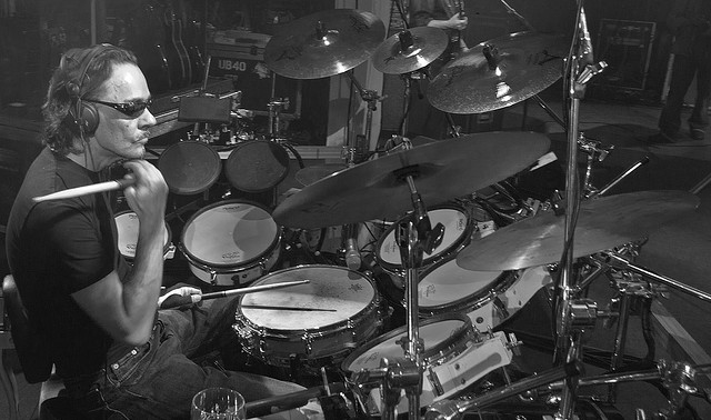 Jimmy's Office: UB40 drummer Jimmy Brown in action