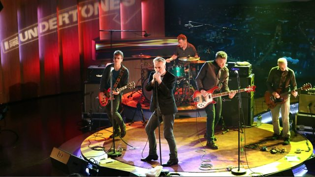 Live Substance: The Undertones perform live at Belfast's Blackstaff Studios (Photo: BBC Radio Ulster)