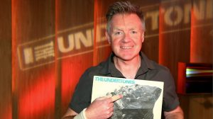 Drum Major: Billy Doherty, loving life with The Undertones in 2016 (Photo: BBC)