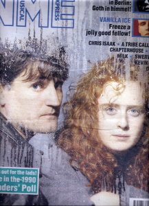 Briana's Days: An early NME front cover for The Beautiful South, featuring Paul Heaton and Briana Corrigan