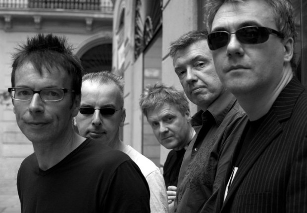 Billy's Third: The Undertones, 2016. From the left - Damian, John, Billy, Mickey, Paul.