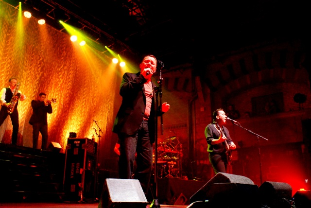 Campbells' Kingdom: UB40 in live action (Photo: Martin Porter)