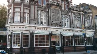 Boston Arms: The Tufnell Park hostelry played a key part in the Greaves family's history