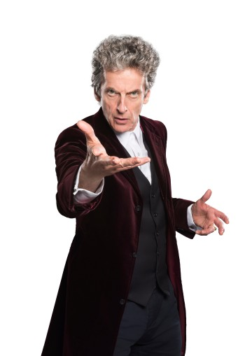 Peter Who: The 12th Doctor, Peter Capaldi (Photo copyright: BBC / Ray Burmiston)