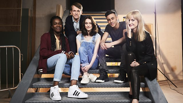Class Act: The cast of Class , the new Dr Who spin-off (Photo copyright: BBC)