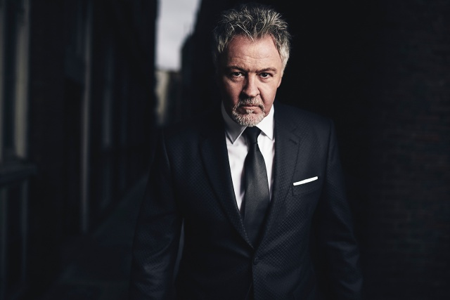 Album Shoot: Paul Young, sharp-suited in the city as part of his Good Thing LP launch (Photo: James Hole)