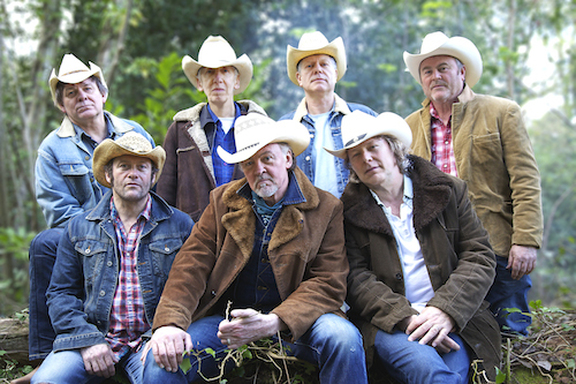 Magnificent Seven: Paul Young with Tex-Mex septet Los Pacaminos