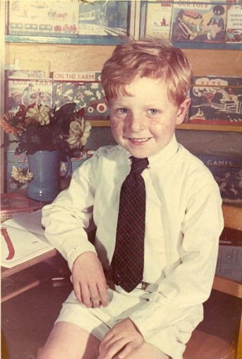 This Boy: Richard Houghton as a lad, when he could annoy his sister with renditions of Michelle