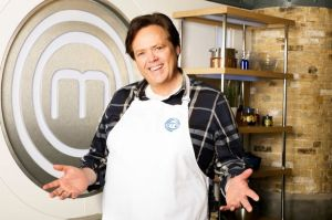 What's Cooking: Jimmy Osmond on the set of Celebrity MasterChef (Photo: BBC)