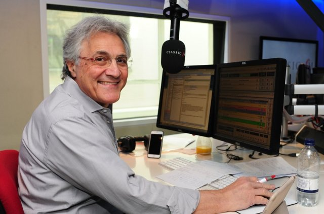 Classic Style: John Suchet in his Classic FM studio in central London (Photo: Classic FM)