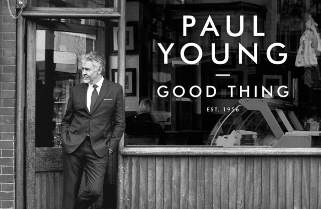Cafe Society: Paul Young snapped for his new album outside Beppe's Cafe, Smithfield Market (Photo: James Hole)