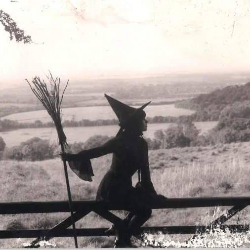 Witch Way: Rose McDowall takes a breather between rural rides in her adopted Oxfordshire