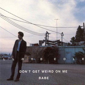 lloyd_cole_-_dont_get_weird_on_me_babe_-_front